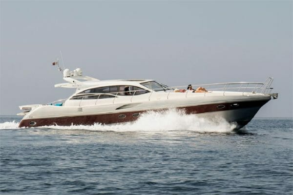 Red One II yacht