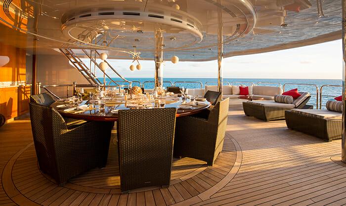 Remember When bridge deck dining