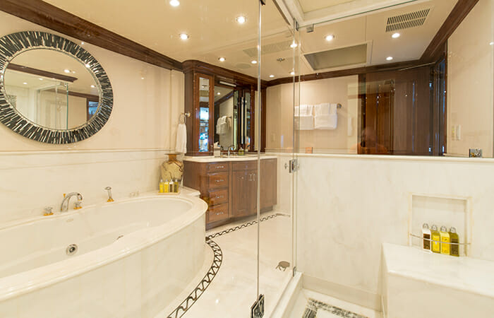 Remember When master bathroom hers