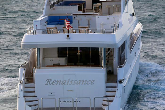 Renaissance aft view