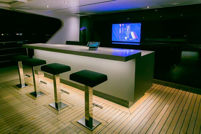 Sahana deck bar