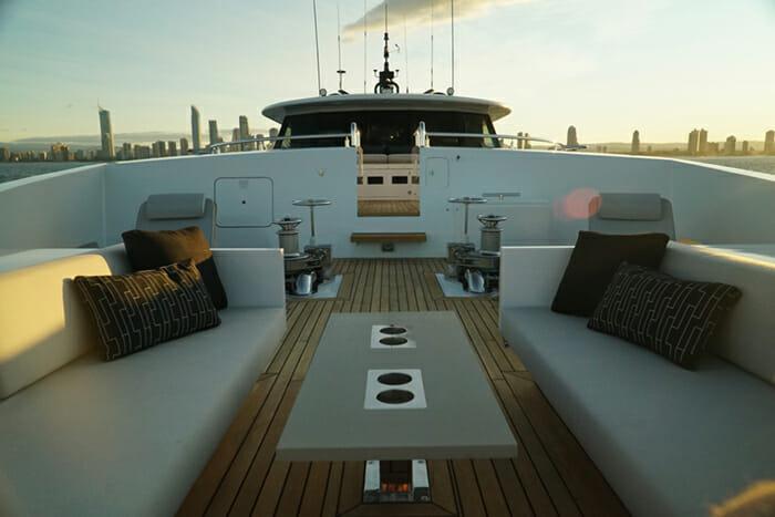 Sahana forward deck