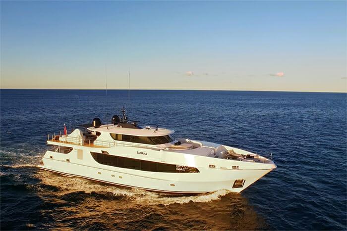 Yacht Sahana