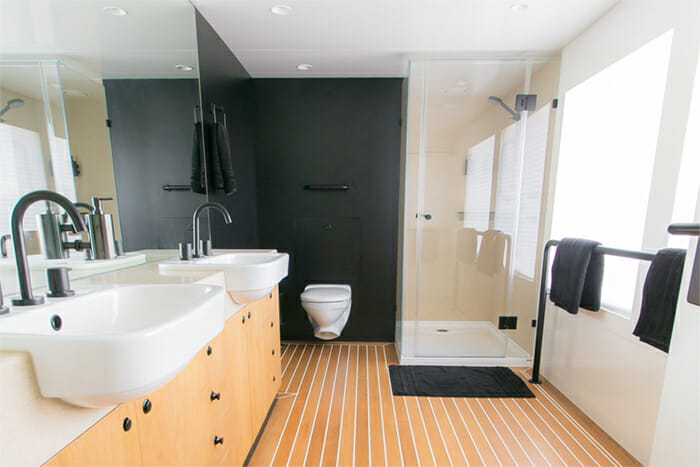 Sahana master bathroom