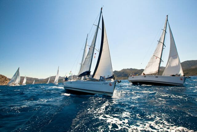 sailing regatta St Barth's Bucket