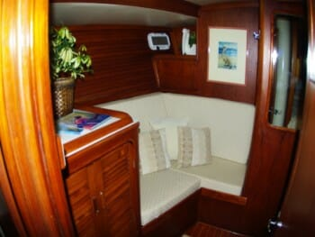 Sandcastle cabin settee