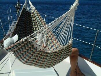 Sandcastle hammock