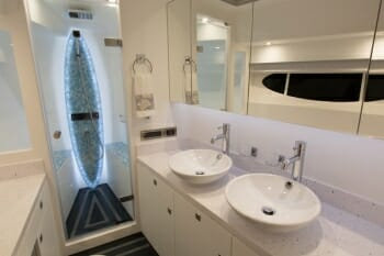 Sea Boss master bathroom