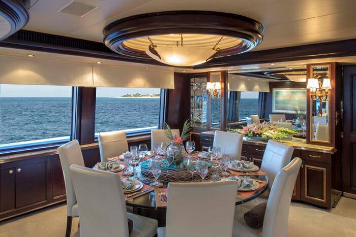 Sea Dreams dining