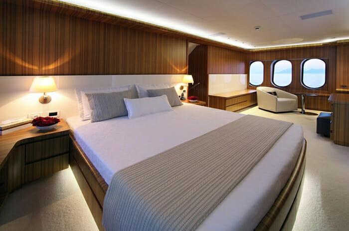 Sea Shell master cabin