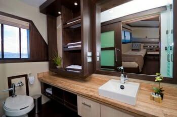 Sea Star Journey guest bathroom
