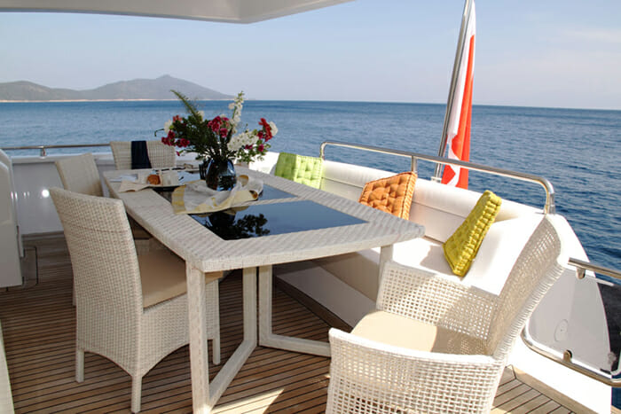 Seawide aft deck