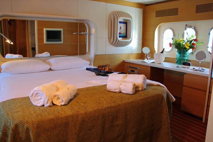 Seawide master cabin