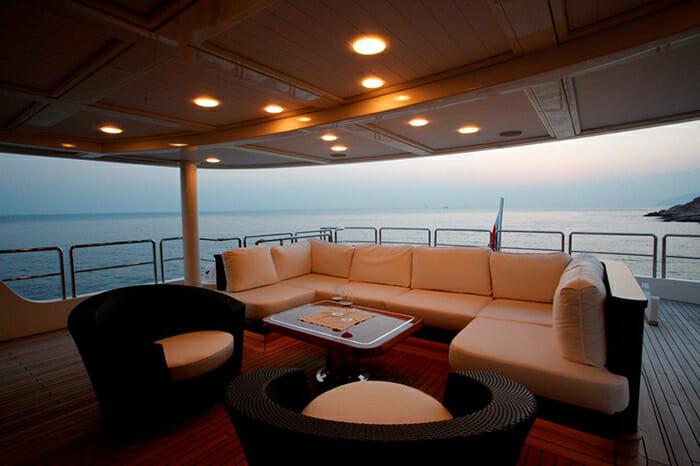 Serenity II master private deck
