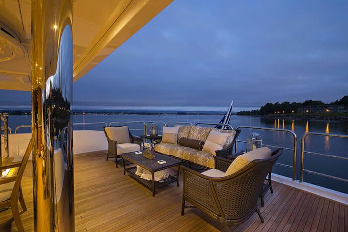 Silver Lining bridge deck