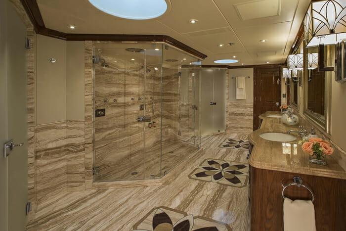 Silver Lining master bathroom