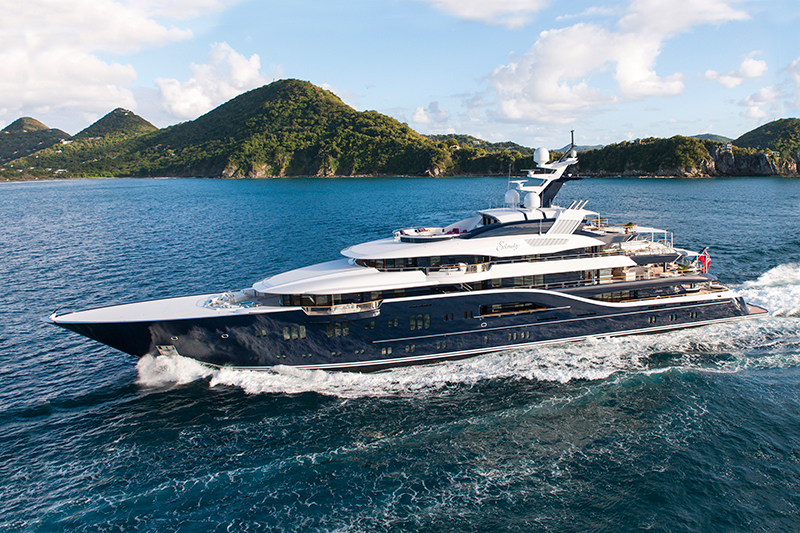 Location de yachts avec héliport: meilleurs yachts avec hélicoptère