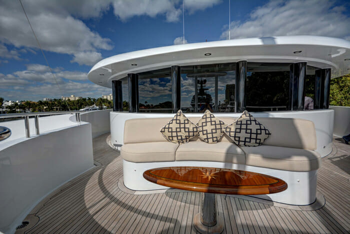 Sovereign forward deck