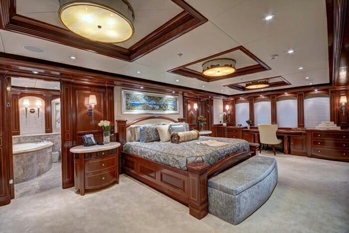 Sovereign master cabin
