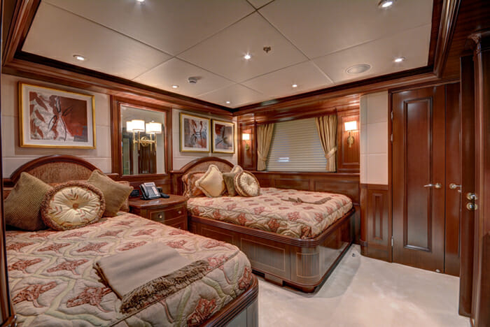 Sovereign twin cabin
