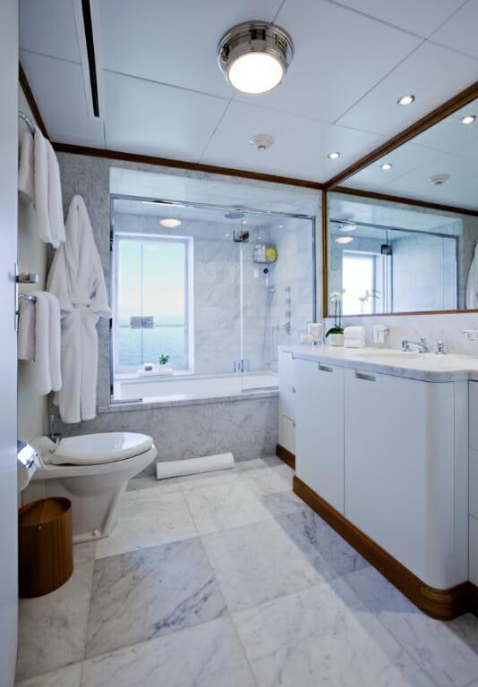 Suri guest bathroom
