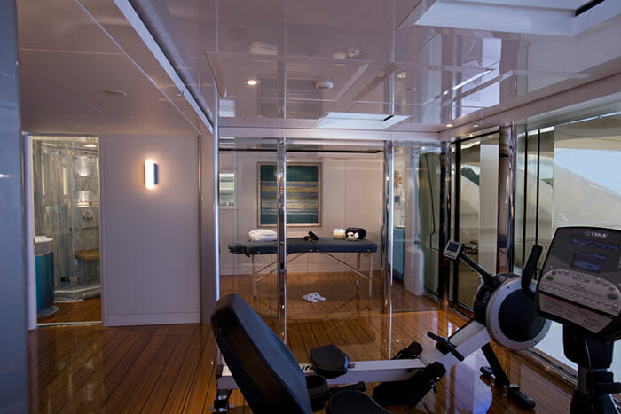 Sycara V sundeck gym and massage