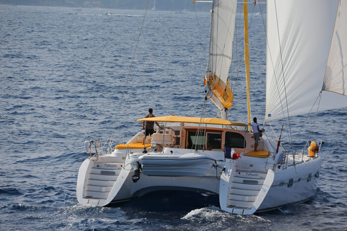 Tahuata sailing