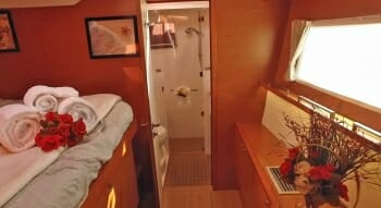 Tell Star guest cabin