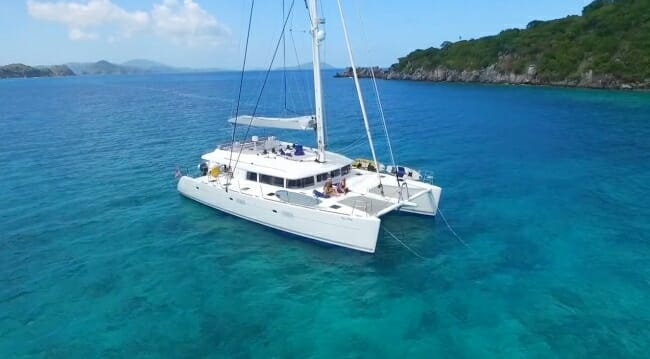 Catamaran Tell Star