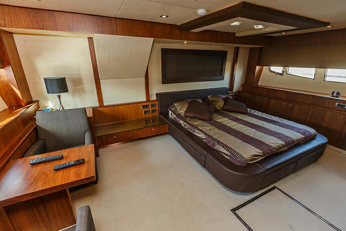 The Best Way master cabin