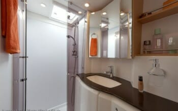 The Cure master bathroom