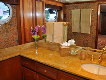 True North guest bathroom