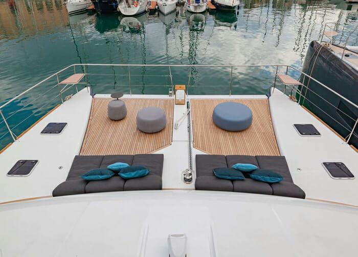 Ultra forward deck