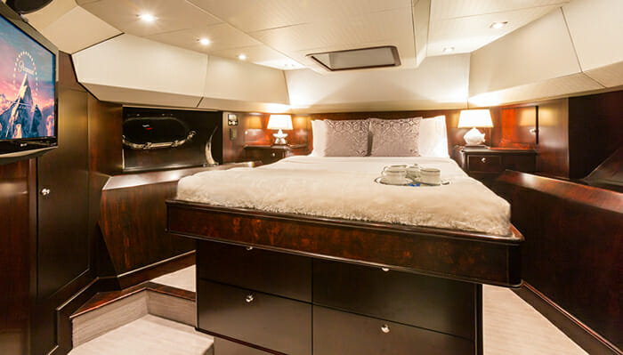 Unbridled VIP cabin