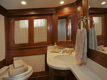 Victorian Rose master bathroom