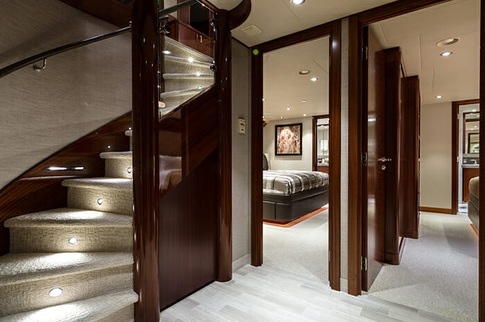 W stairs