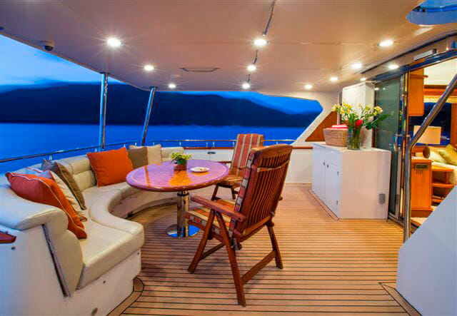 Watershed II aft deck
