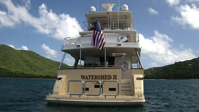 Watershed II stern