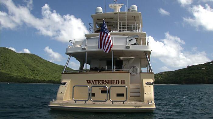 Watershed II stern