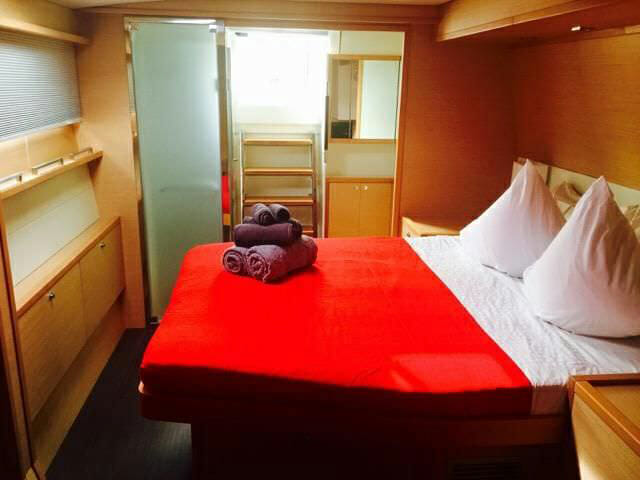 Whisper II guest cabin