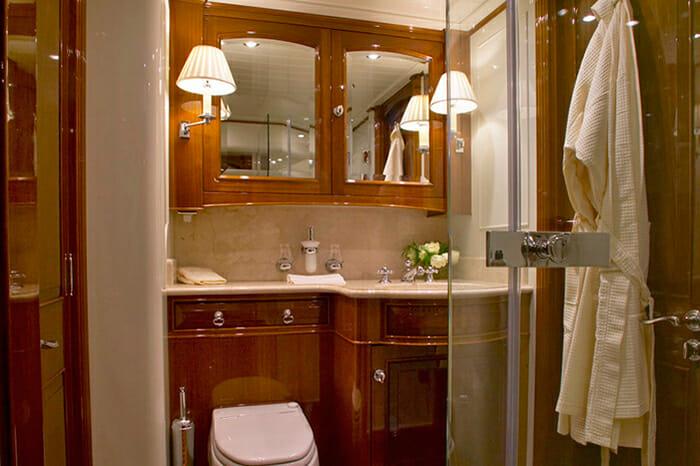 Whisper guest bathroom