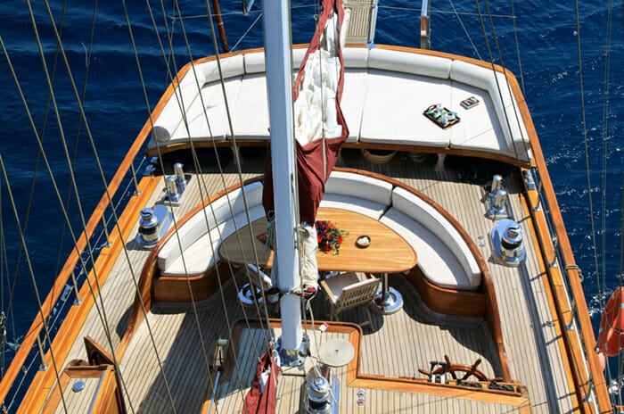 Why Not III aft deck