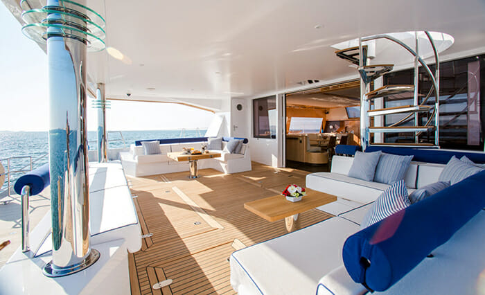 Windquest aft deck