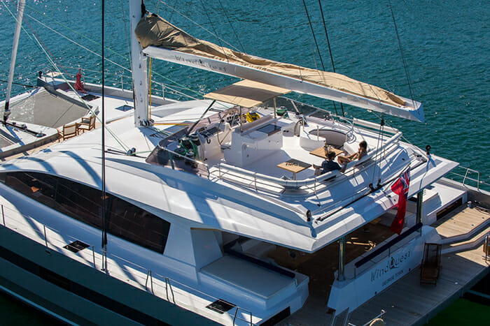 Windquest flybridge