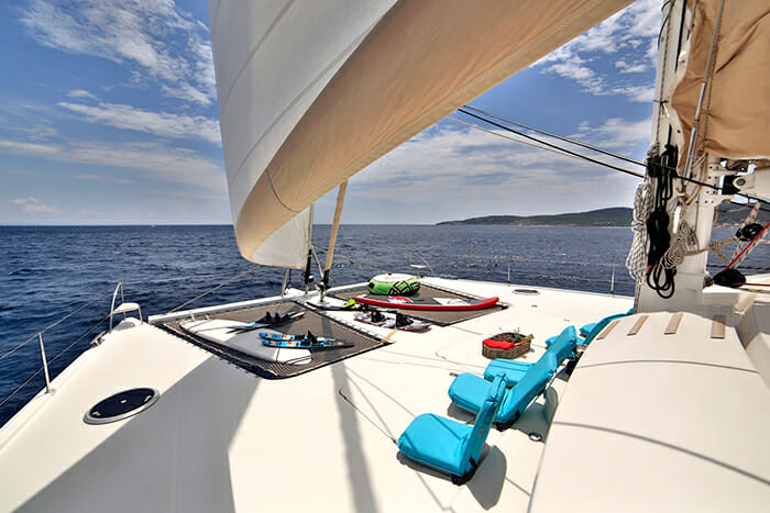 World's End foredeck