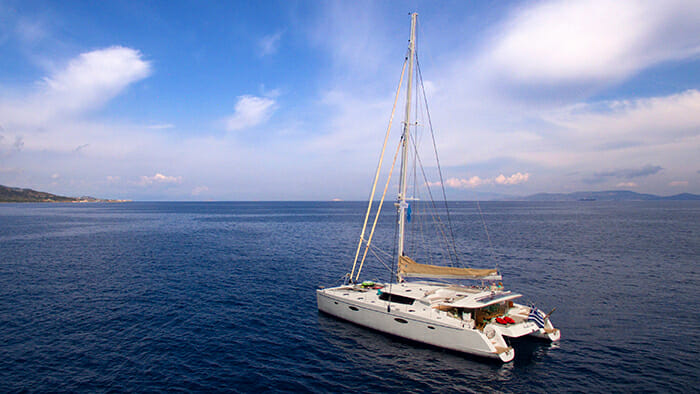 Catamaran World's End