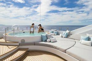 yacht jacuzzi
