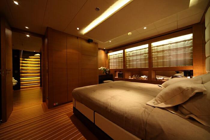 Zaliv III double cabin