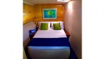 Zingara guest cabin